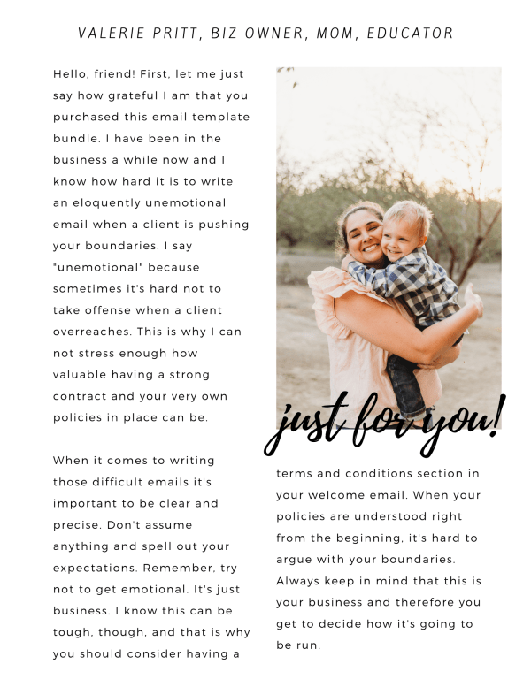 Email Templates for Wedding Planners