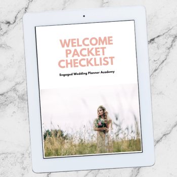 Welcome Packet Checklist