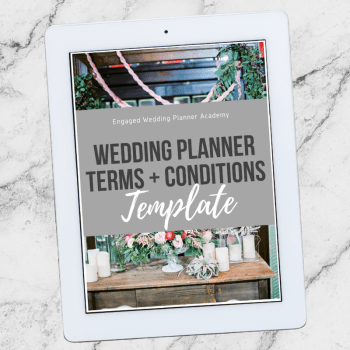 Wedding Planner Terms and Conditions