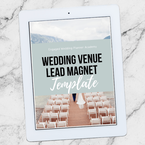 Wedding Venue Lead Magnet