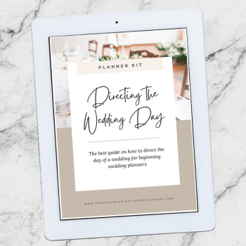 The Best Guide You Need for Directing the Wedding Day