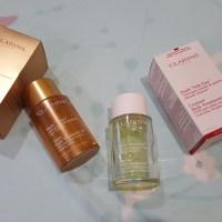Clarins: Tonic Body Treatment Oil & Contour Body Treatment Oil