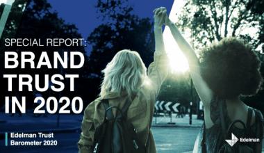 Edelman brand Trust In 2020