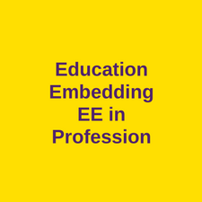 education embedding in profession