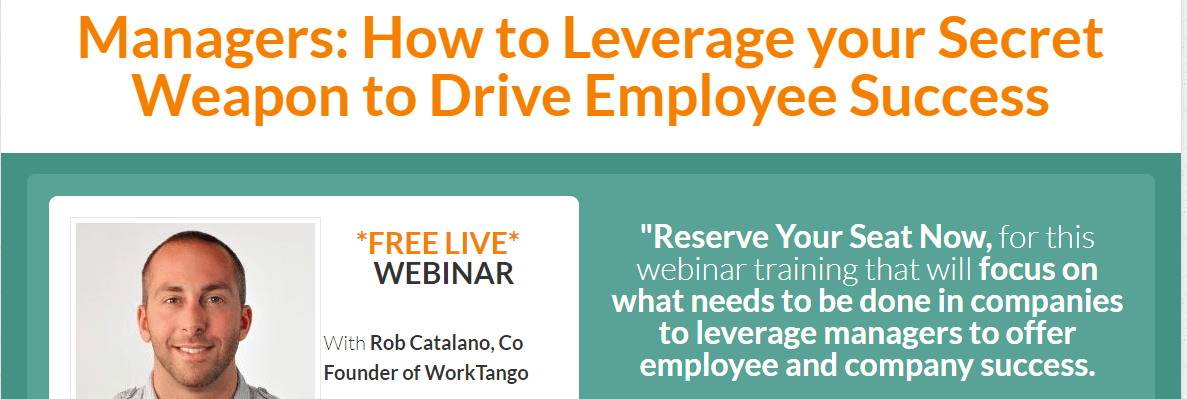 employee success webinar