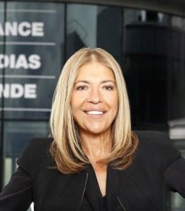 Marie-Christine Saragosse, présidente de France Médias Monde
