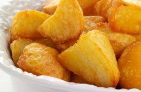 A different kind of roast potato.