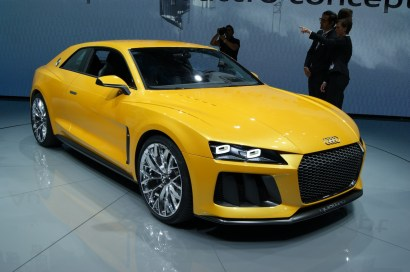 Audi's stunning hybrid Sport quattro concept has caught lots of attention