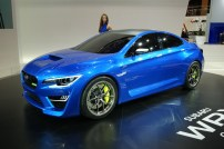 Subaru showed off its WRX Concept, first show in Detroit. WIll it come to the UK? Given Subaru's track record, don't count on it.