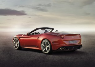 Ferrari is offering two new colours with the Cali T. This is Rosso California.