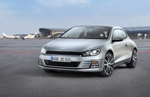 Revised 'regular' Scirocco front end. Private jet probably not included