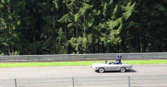Eventual race winner Daniel Ricciardo