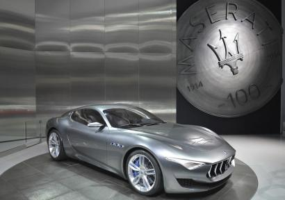 Still doing the rounds; the Maserati Alfieri concept
