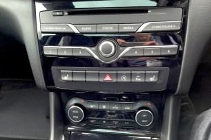 Infiniti Q30 interior...