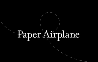 "image from:  ""Paper Airplane"" by Michael McMillan"