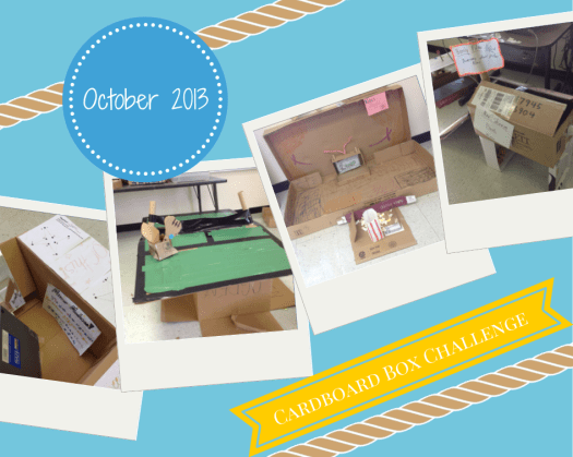 Cardboard Box Challenge