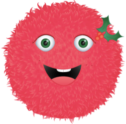 """Holly Fuzz - coming just in time for the """"Holly""""days!"""