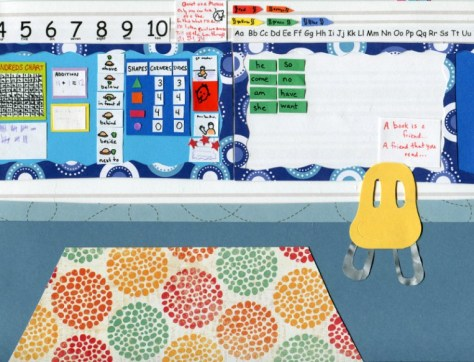 Setting: Kindergarten Class, by Nicole Smeltzer