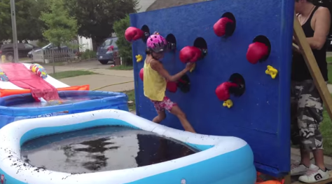 Dads Make Kids Wipeout Course