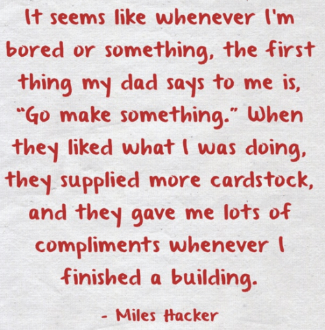 from The Making of a Maker