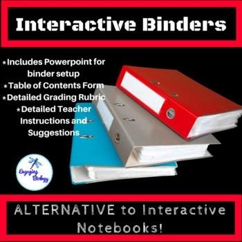 Interactive BInders - Alternative to Interactive Notebooks