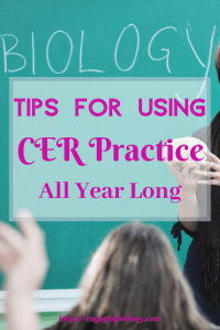 Tips for using CER practice all year long