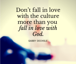 Don't fall in live with culture (2)