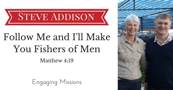 EM047 Follow Me and I'll Make You Fishers of Men with Steve Addison