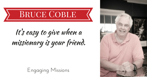 EM048 It's easy to give when a missionary is your friend