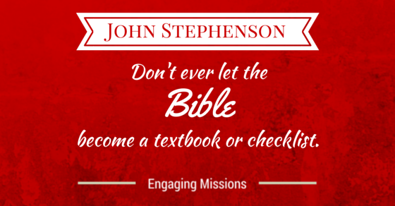 EM049 Don't ever let the Bible become