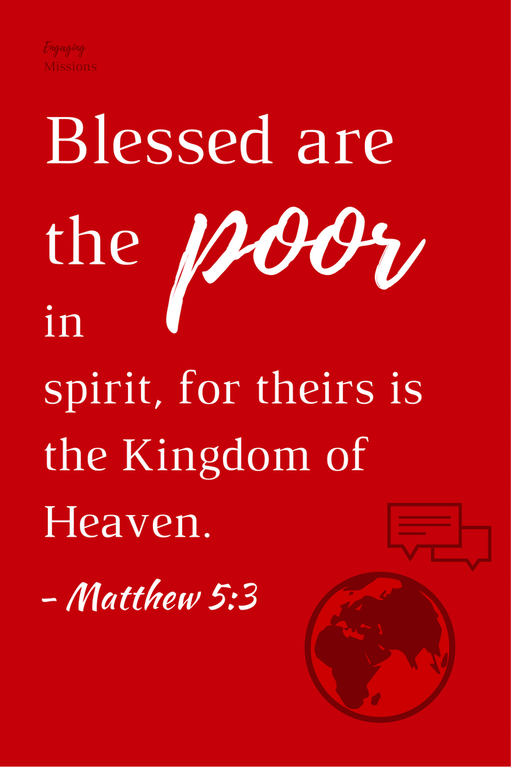 blessed are the poor in spirit matthew 5:3