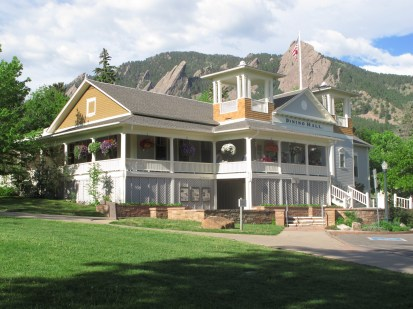 The Dining Hall at Colorado Chautauqua.