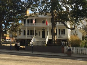 Burgwin-Wright House and Gardens, Wilmington, NC.
