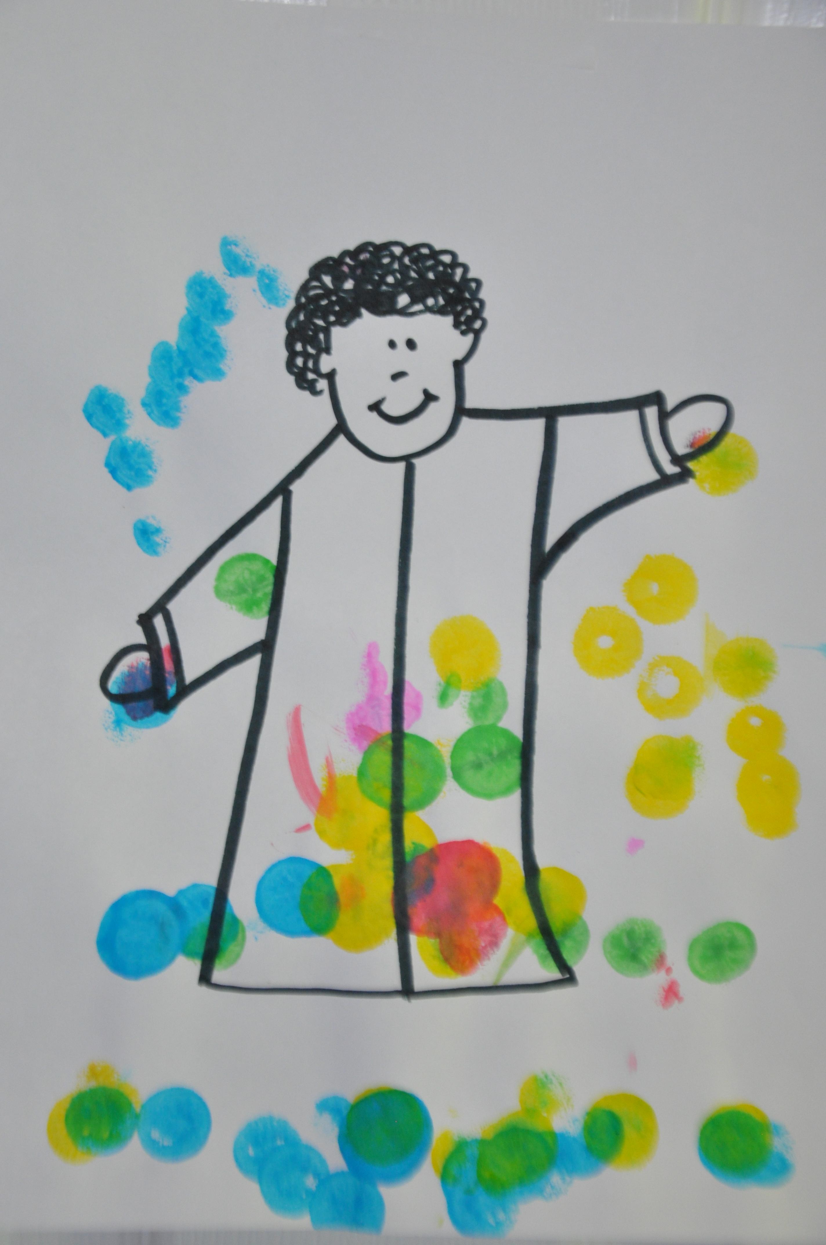 Joseph S Colorful Coat