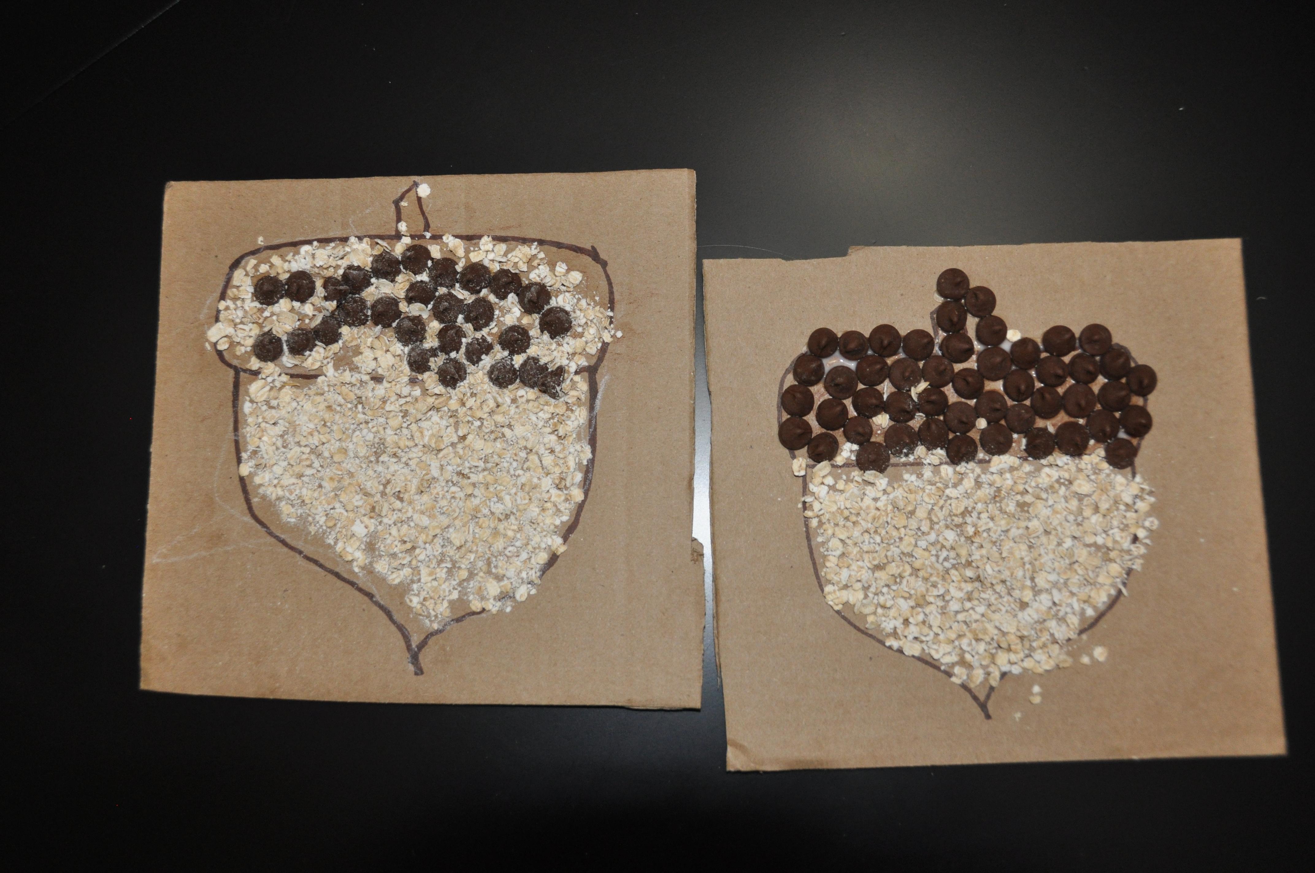 Chocolate Oat Acorns