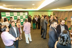 95% dos convidados participaram do evento
