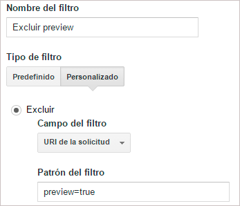 Eliminar vista previa de WordPress