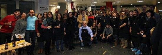 Foto de grupo de Bilbao Bloggers