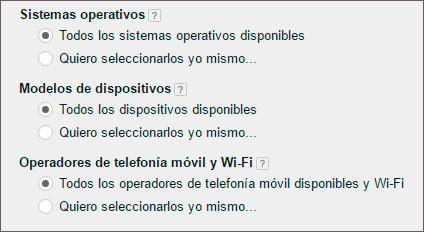 Adwords Telefonia movil con wifi
