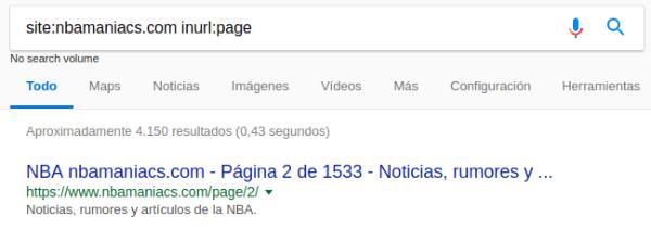 NBAmaniacs paginación