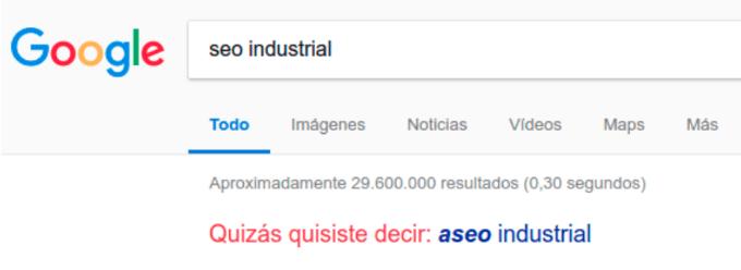 SEO industrial . Gorka Goikoetxea