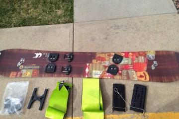 Splitboard Setup