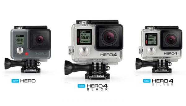 GoPro Hero4 Series Firmware Update