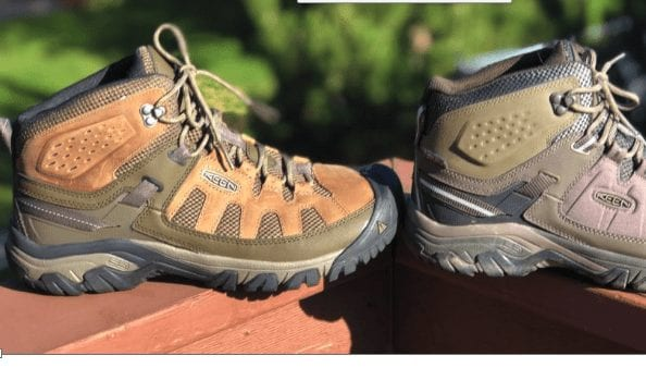KEEN Targhee Vent and EXP Boots - Two New Updates to the Targhee Collection 1
