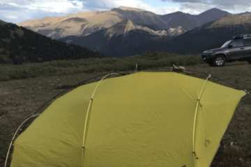 Sierra Designs Convert Tent Review - 4-Season Strength, 3-Season Weight 2