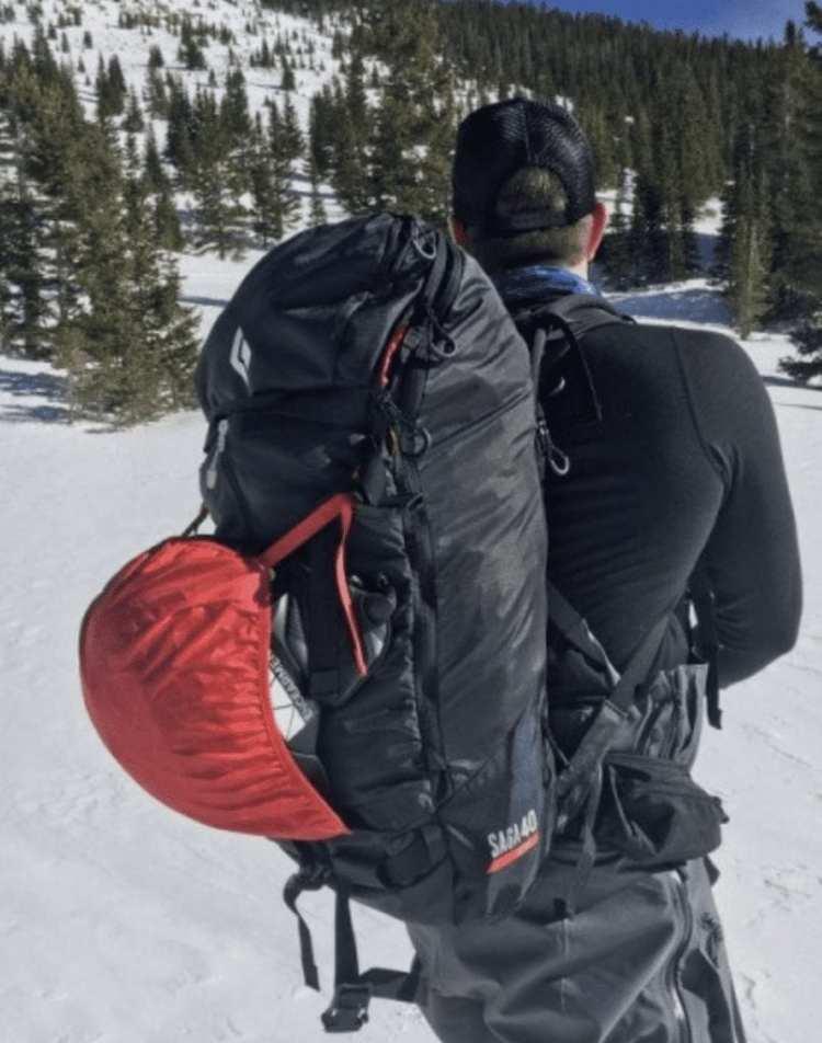 Black Diamond Jetforce Saga 40 backcountry ski and splitboard backpack
