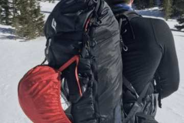 Black Diamond Jetforce Saga 40 backcountry ski and splitboard backpack