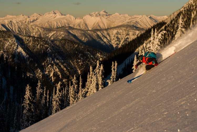 Adventure Women Film tour Skier: Nat Segal Location: Valhalla Mountain Touring, Valhalla Mountains, BC