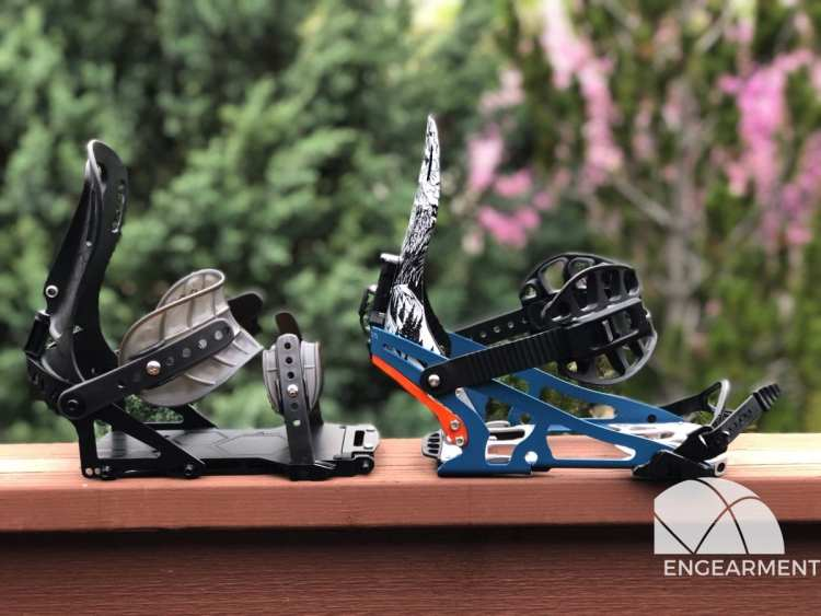 Spark R&D Pro Surge Splitboard Bindings