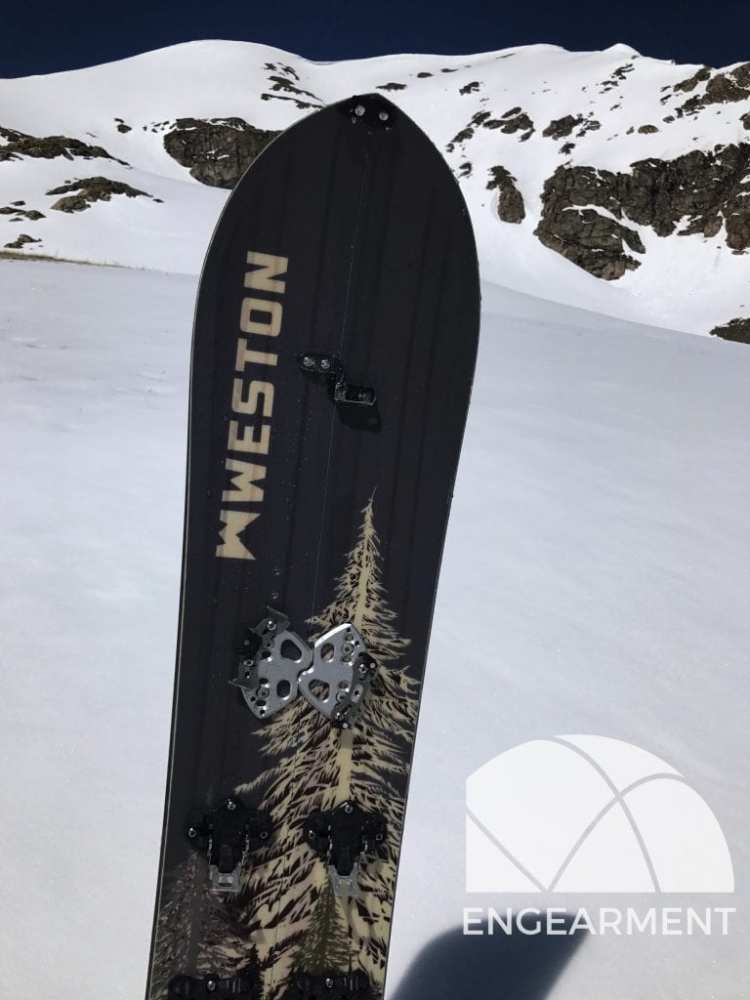 2018 Weston Backwoods Splitboard Review